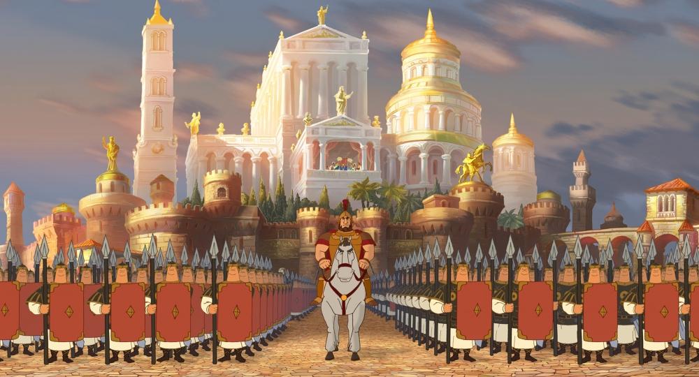 кадры из фильма Илья Муромец и Соловей Разбойник
