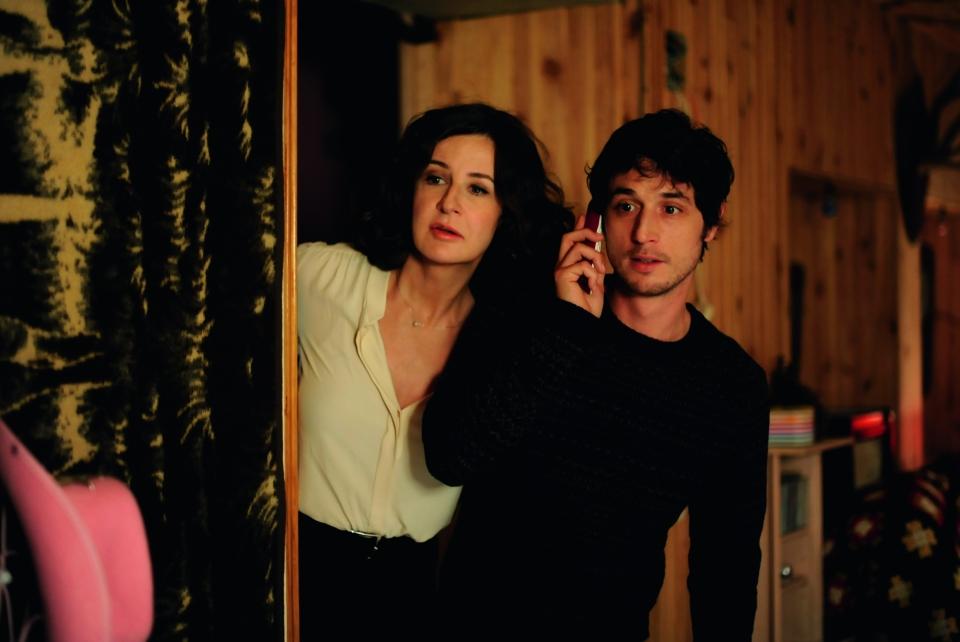 кадры из фильма Твоя рука в моей руке Валери Лемерсье, Жереми Элькаим,