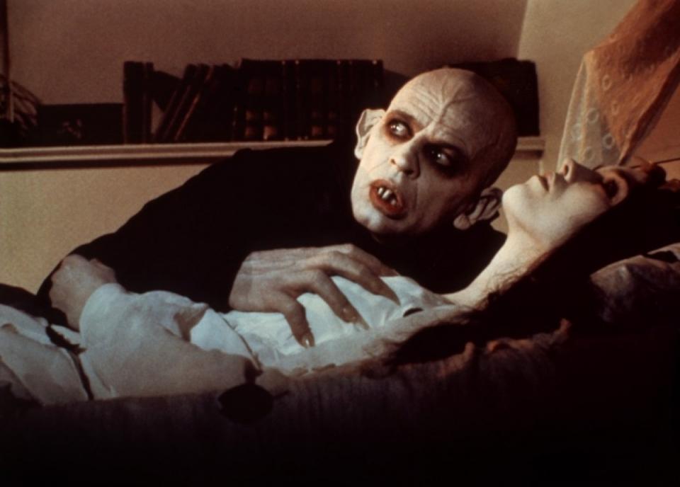 кадры из фильма Носферату: Призрак ночи Изабель Аджани, Клаус Кински,