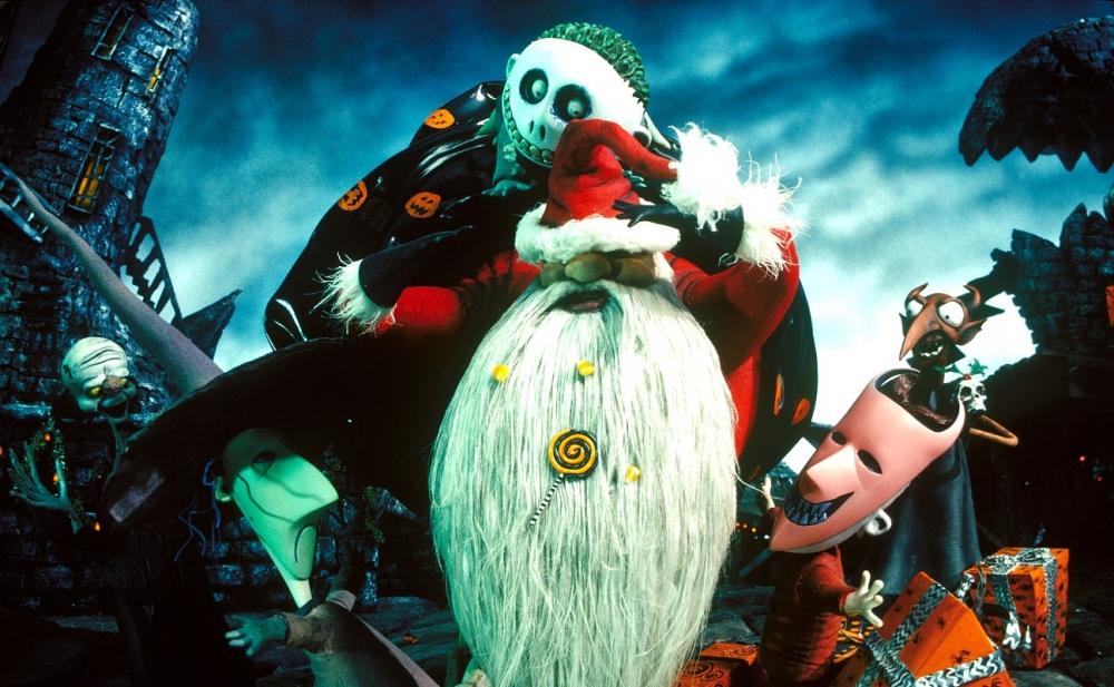 кадры из фильма Кошмар перед Рождеством