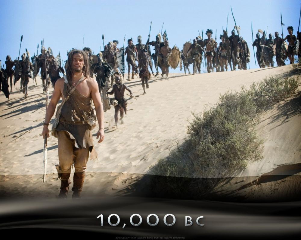 кадры из фильма 10 000 лет до н.э.