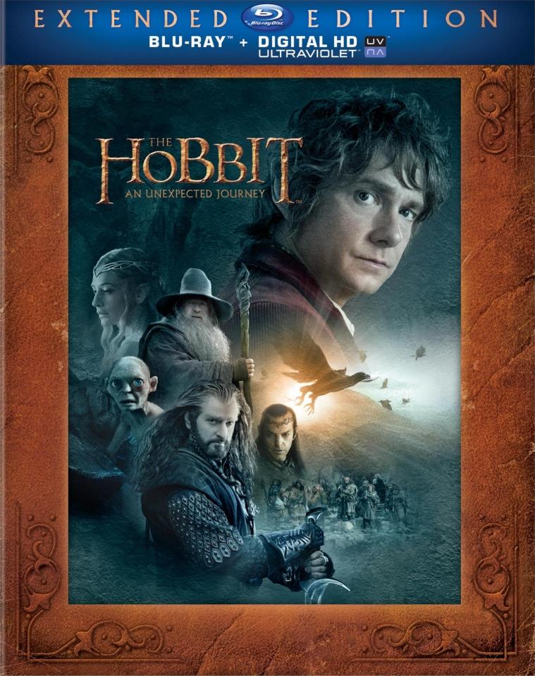 плакат фильма Blu-Ray Хоббит: Нежданное путешествие