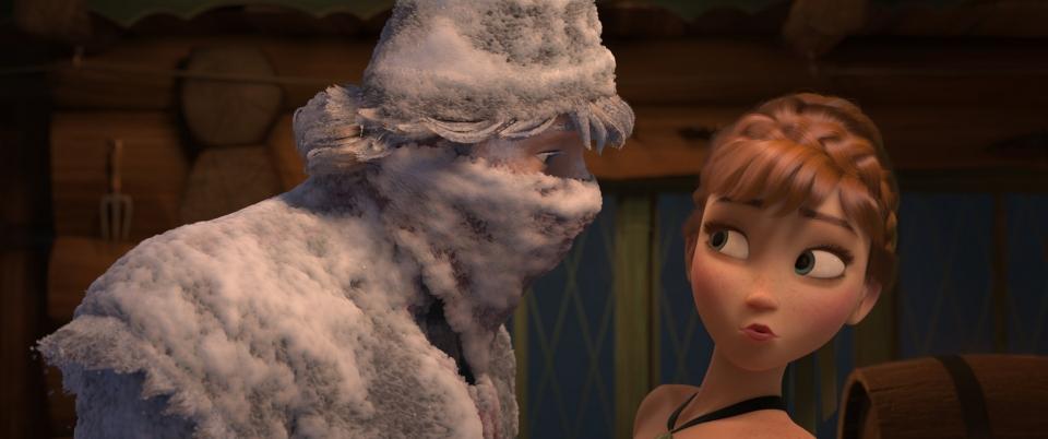 кадры из фильма Холодное сердце