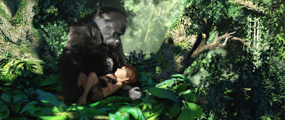 кадры из фильма Тарзан