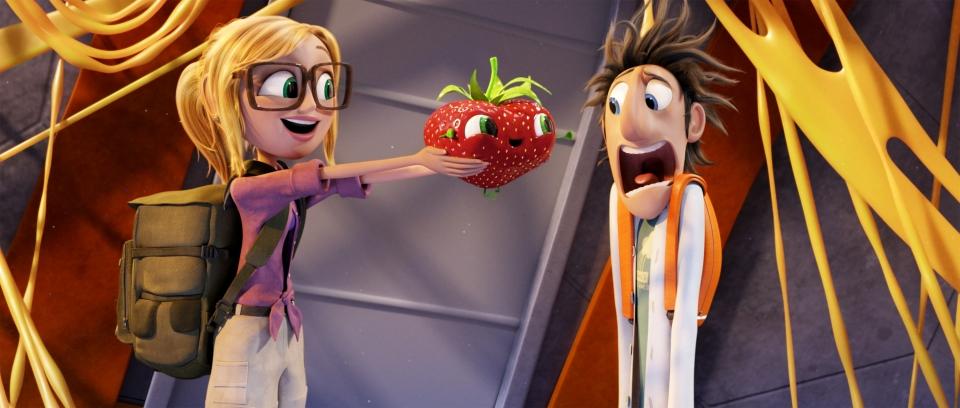 кадры из фильма Облачно… 2: Месть ГМО
