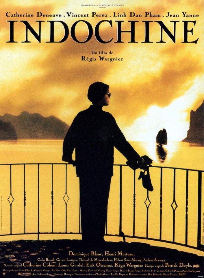 плакат фильма постер Индокитай