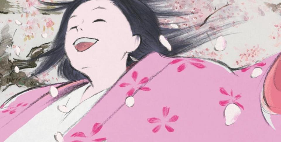 промо-слайды Сказание о принцессе Кагуя*