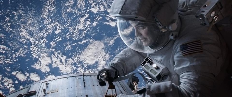 кадры из фильма Гравитация Джордж Клуни,