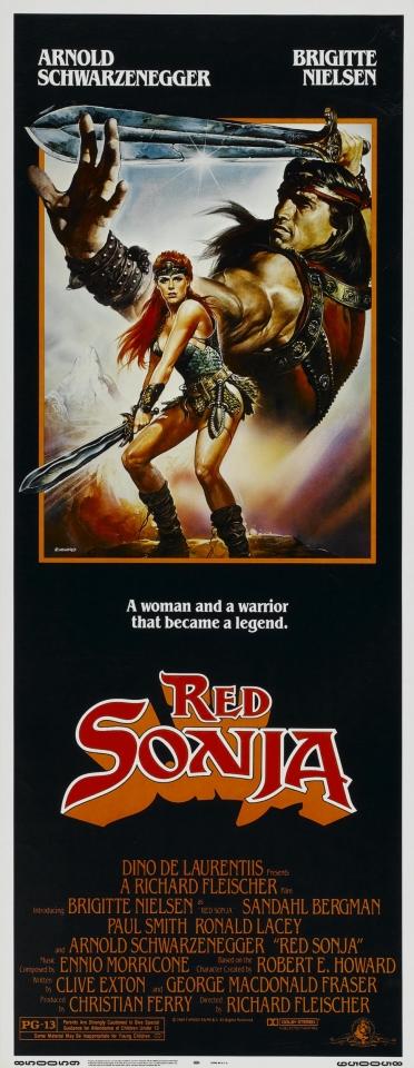 плакат фильма баннер Рыжая Соня