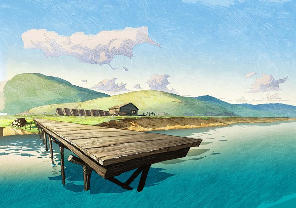 концепт-арты Остров Джованни