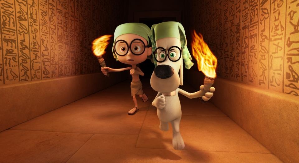 кадры из фильма Приключения мистера Пибоди и Шермана