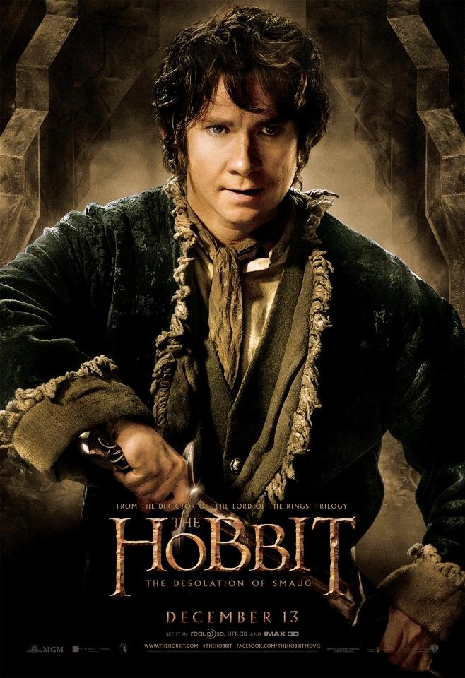 плакат фильма характер-постер Хоббит: Пустошь Смауга