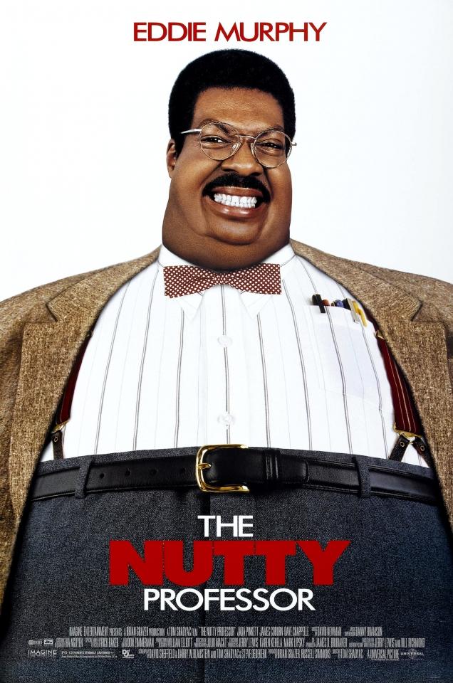 плакат фильма постер Чокнутый профессор