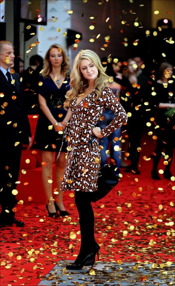 звездная дорожка Церемония открытия именной «звезды» Пэрис Хилтон в Мытищах Пэрис Хилтон,