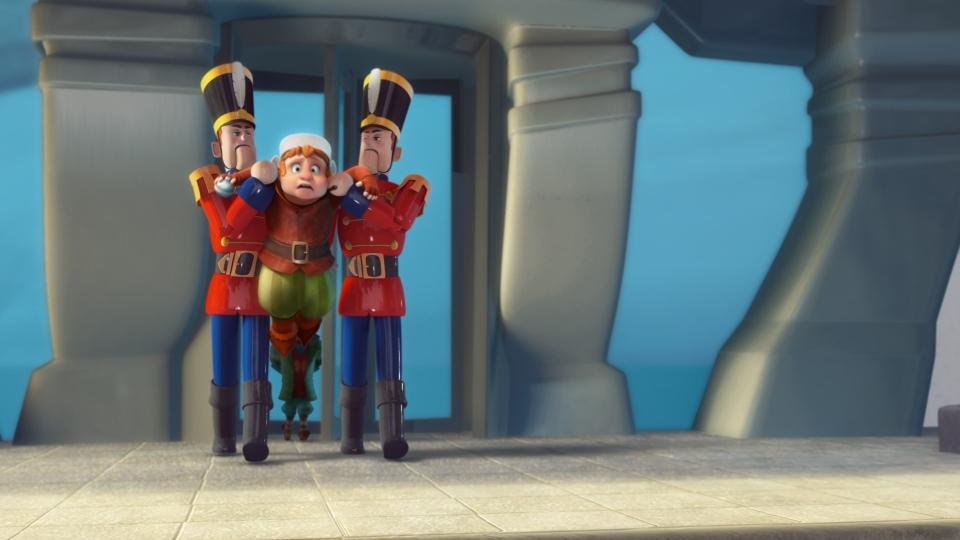 кадры из фильма Спасти Санту