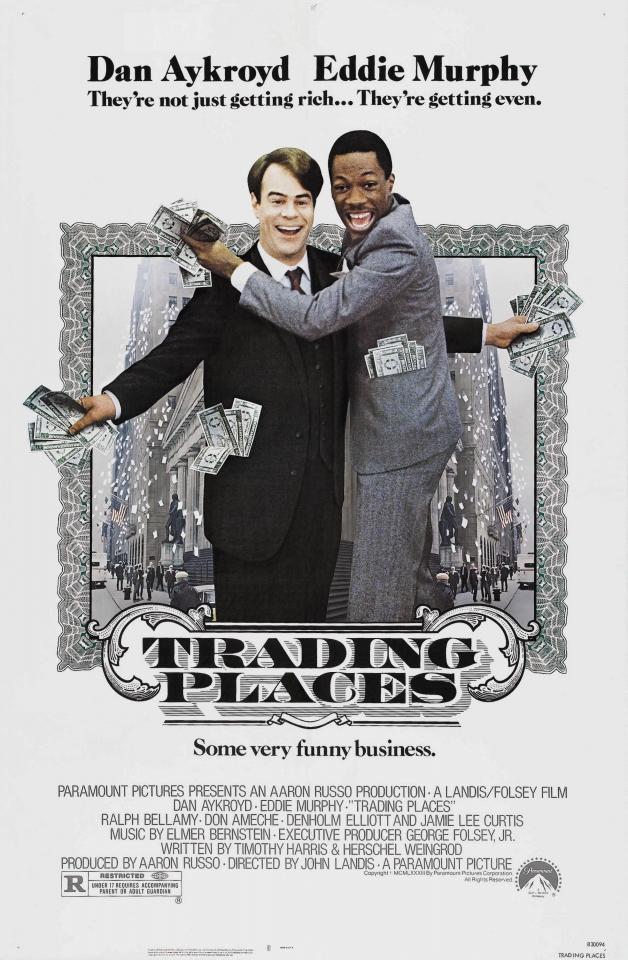 плакат фильма постер Поменяться местами