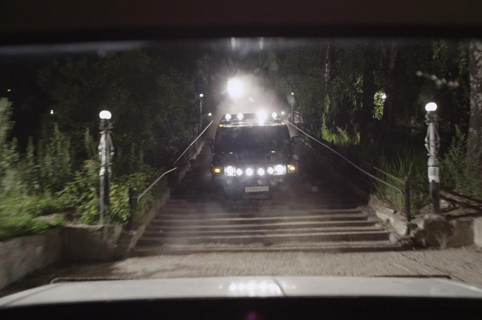 кадры из фильма Курьер из Рая