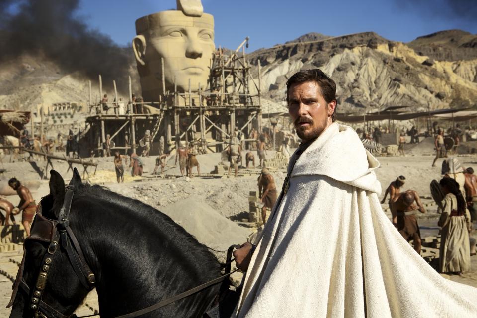 кадры из фильма Исход: Цари и боги Кристиан Бэйл,