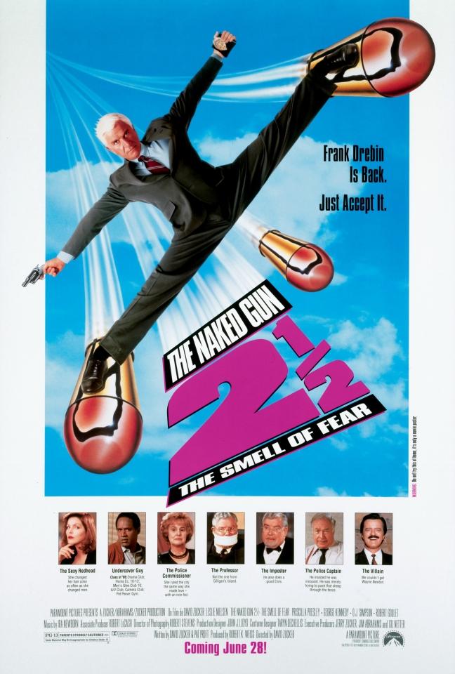 плакат фильма постер Голый пистолет 2 1/2: Запах страха