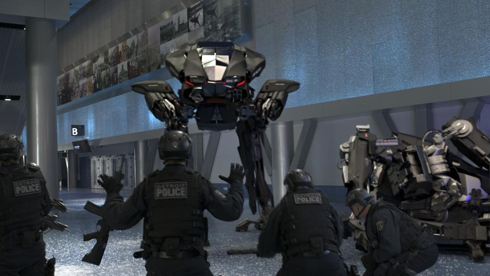 кадры из фильма Робокоп