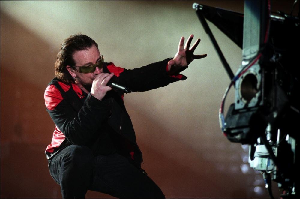 кадры из фильма U2 3D