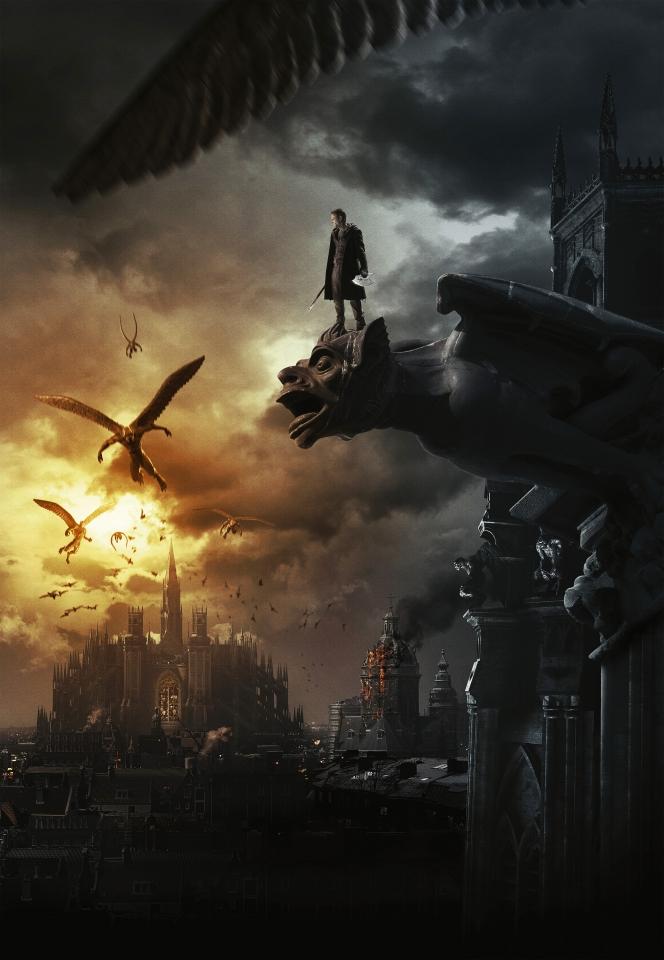 плакат фильма постер textless Я, Франкенштейн
