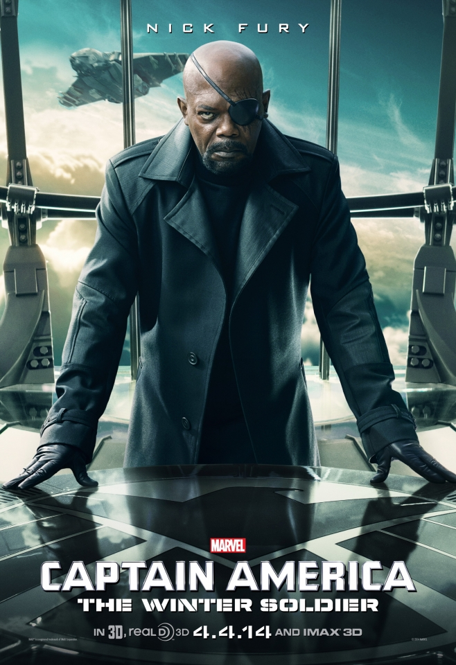 плакат фильма характер-постер Первый Мститель: Другая война