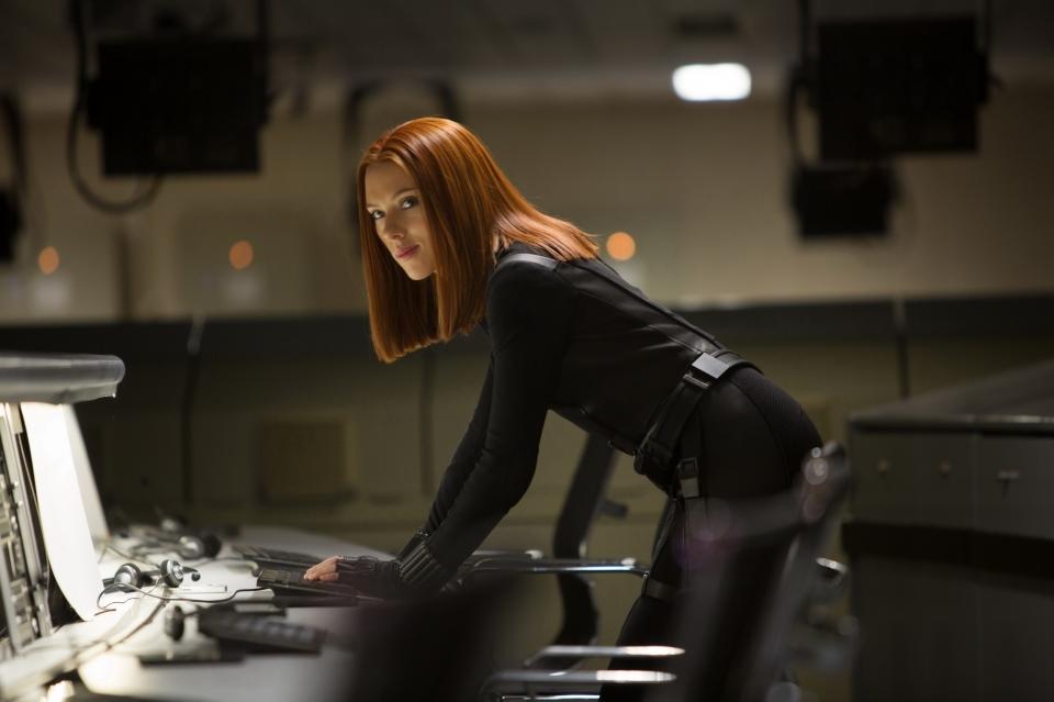 кадры из фильма Первый Мститель: Другая война Скарлетт Йоханссон,