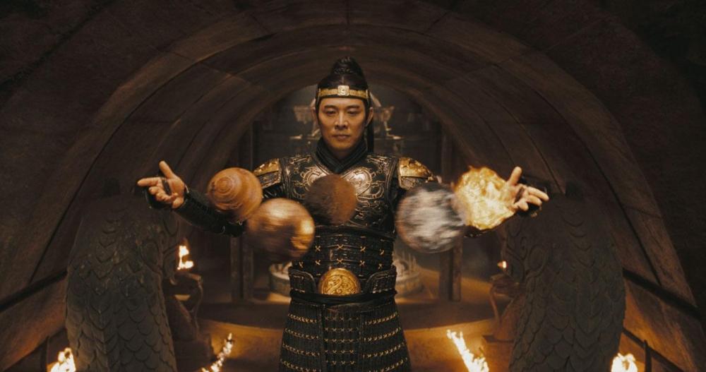 кадры из фильма Мумия: Гробница императора драконов Джет Ли,