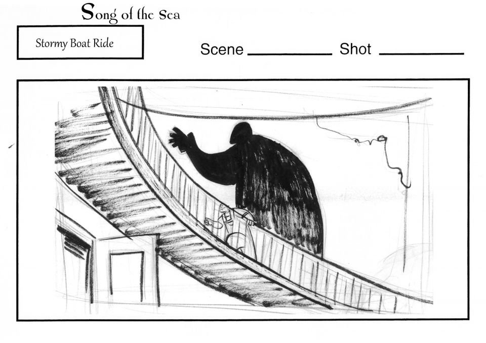 концепт-арты Песнь моря