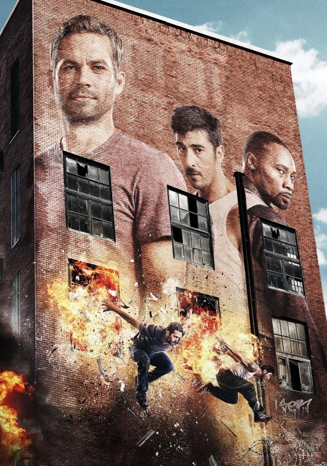 плакат фильма постер textless 13-й район: Кирпичные особняки