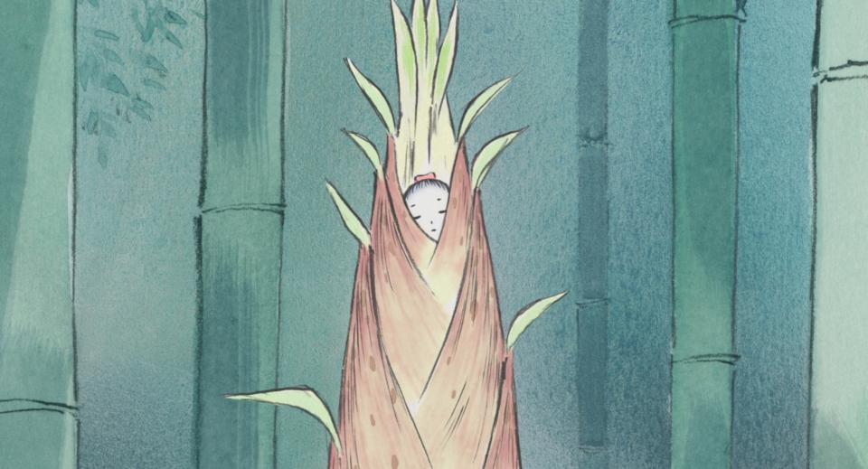 кадры из фильма Сказание о принцессе Кагуя*