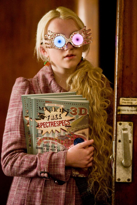 кадры из фильма Гарри Поттер и Принц-полукровка Эванна Линч,