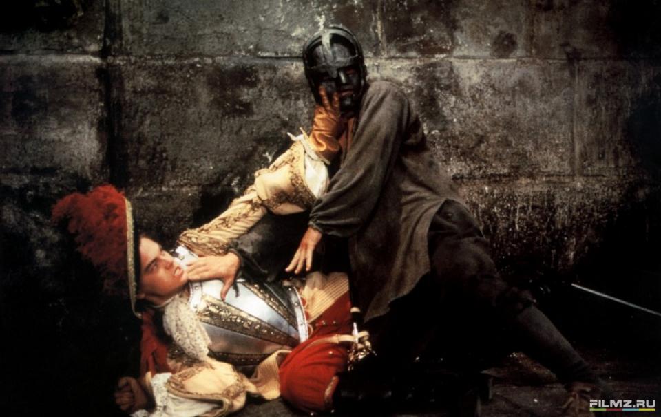 кадры из фильма Человек в железной маске Леонардо ДиКаприо,