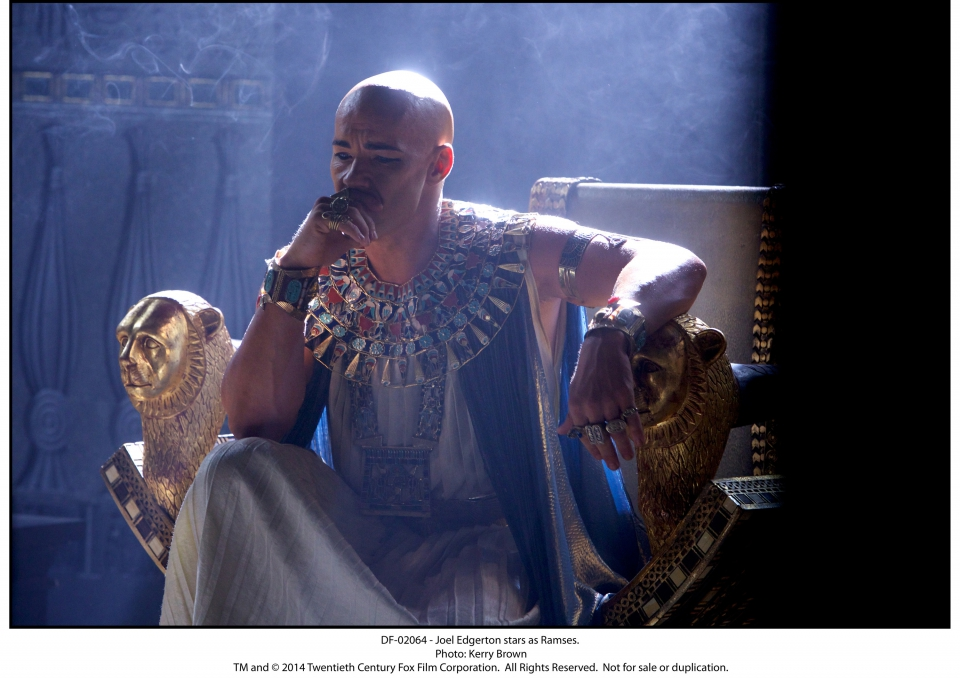 кадры из фильма Исход: Цари и боги Джоэл Эджертон,