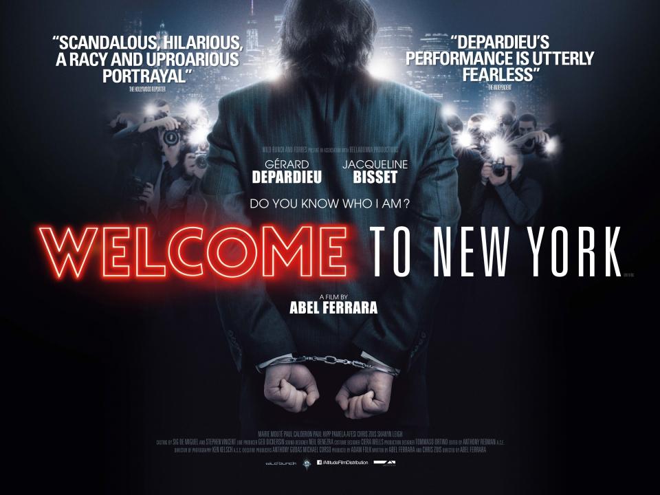 плакат фильма биллборды Добро пожаловать в Нью-Йорк