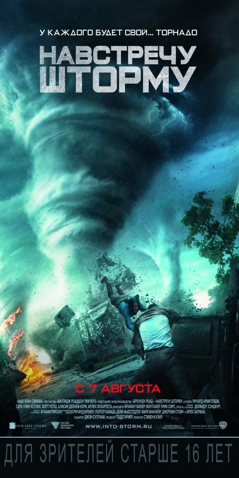 плакат фильма постер локализованные Навстречу шторму