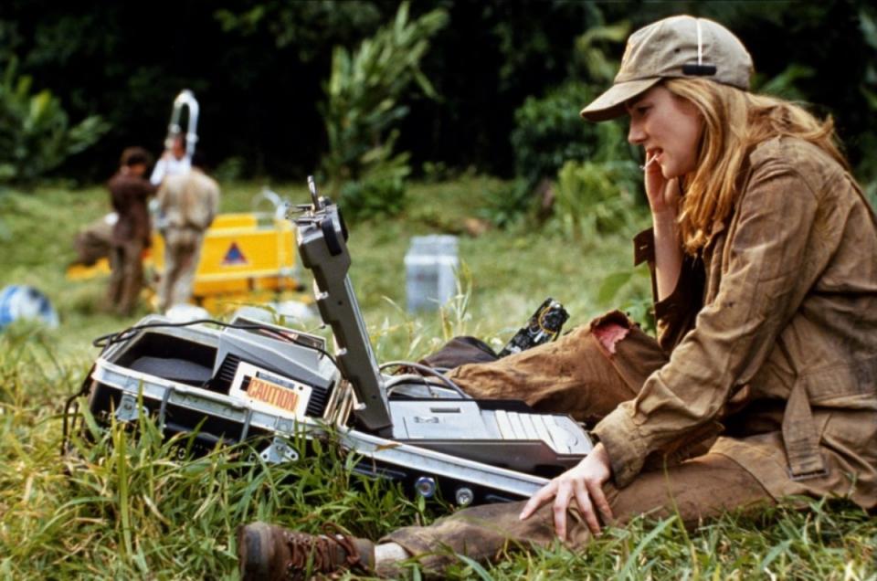 кадры из фильма Конго Лора Линни,