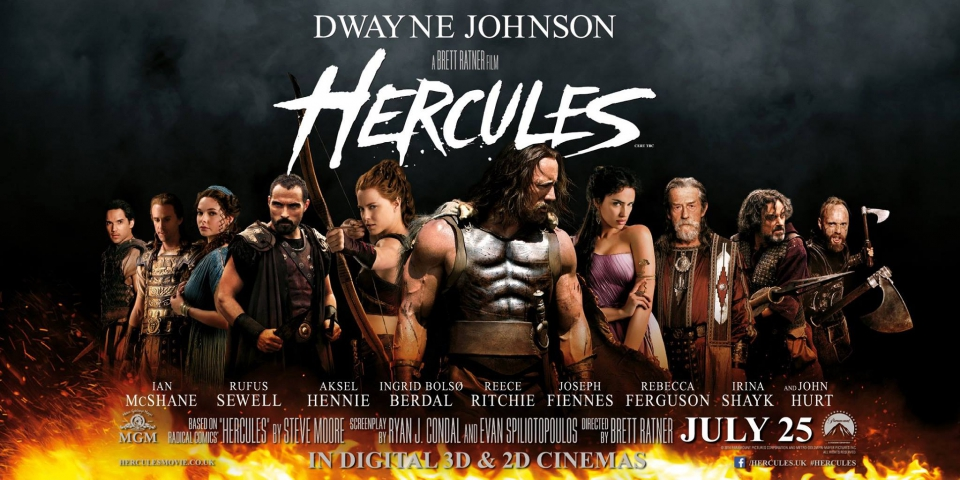 плакат фильма баннер локализованные Геракл