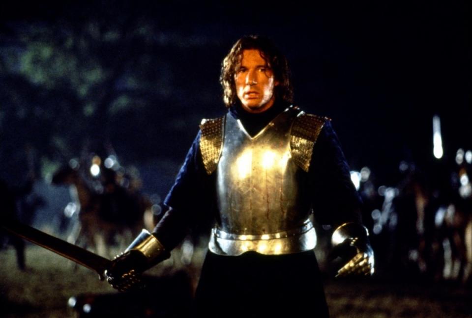 кадры из фильма Первый рыцарь Ричард Гир,