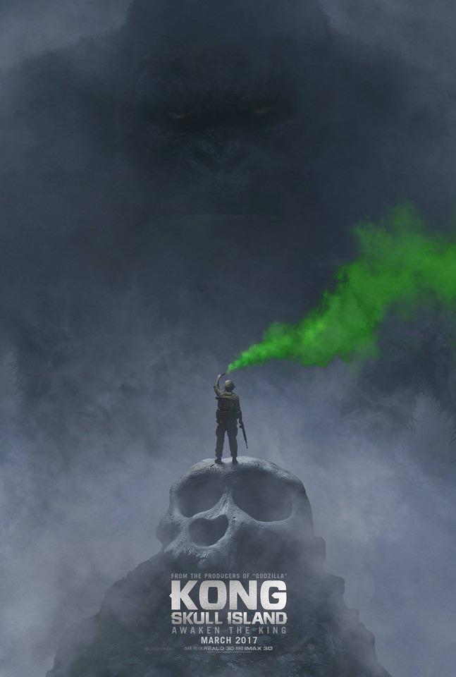 плакат фильма постер Конг: Остров Черепа
