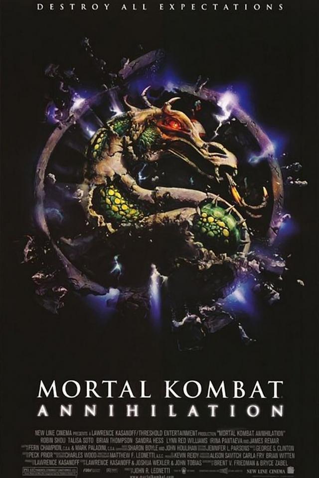 плакат фильма постер Смертельная битва 2: Истребление