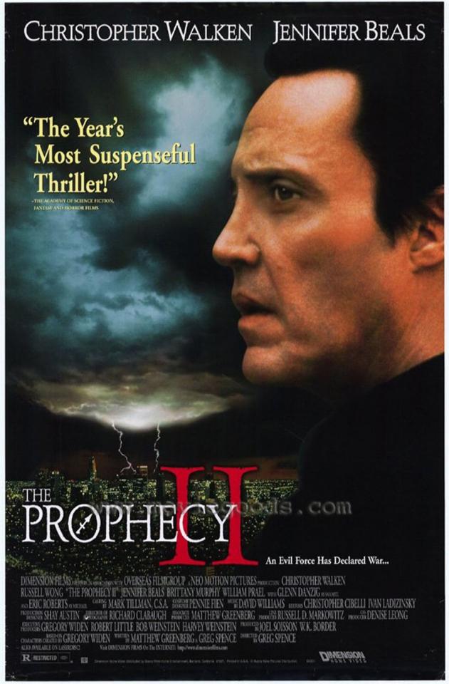 плакат фильма постер Пророчество 2