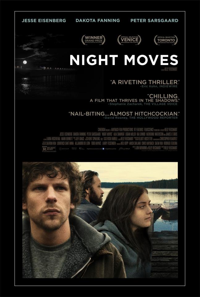 плакат фильма постер Ночные движения