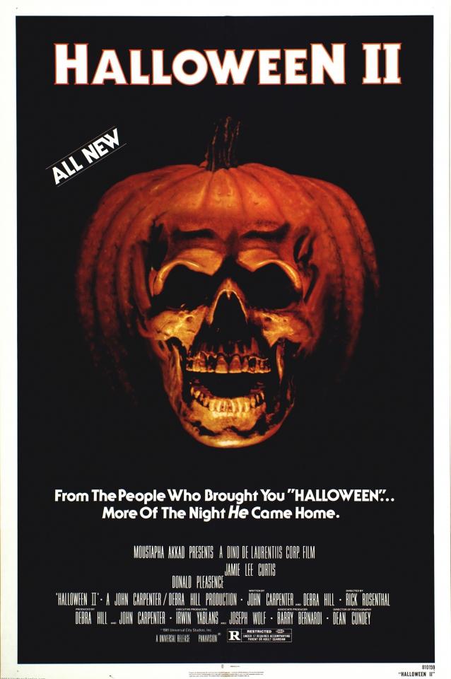 плакат фильма постер Хэллоуин 2