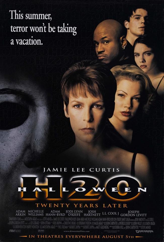 плакат фильма постер Хэллоуин: Двадцать лет спустя