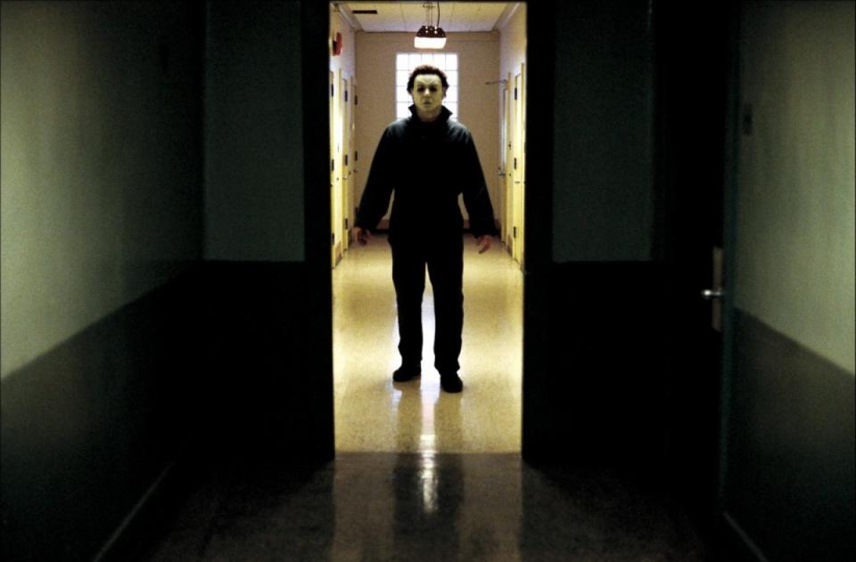 кадры из фильма Хэллоуин: Воскрешение
