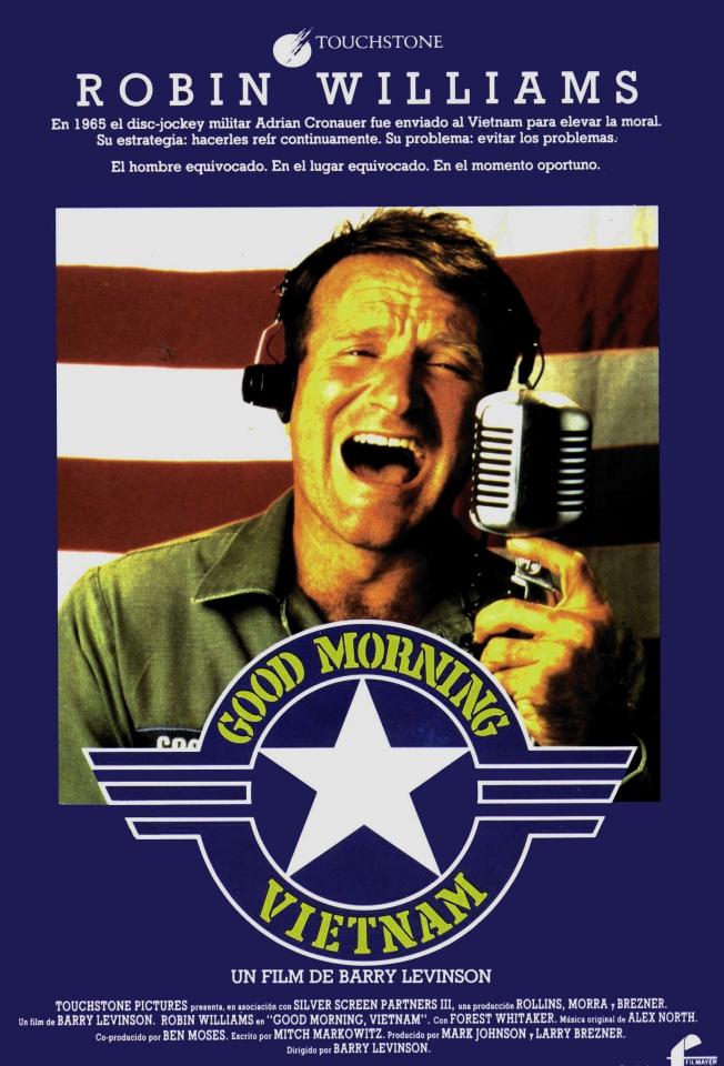 плакат фильма постер Доброе утро, Вьетнам
