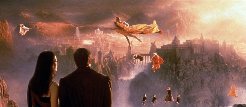 кадры из фильма Куда приводят мечты Аннабелла Скиорра, Робин Уильямс,