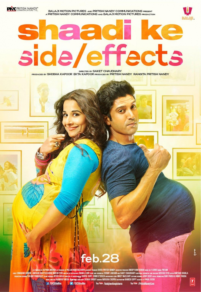 плакат фильма постер Обратная сторона брака